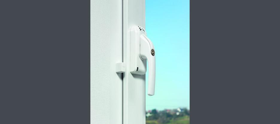 Poignées de fenêtre avec fermeture ABUS avec alarme