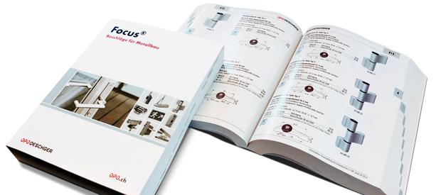 Für Metallbauer und Architekten: Der Focus «Beschläge für Metallbau»
