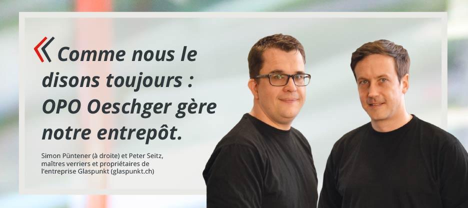 Parole aux clients d'OPO – glaspunkt GmbH
