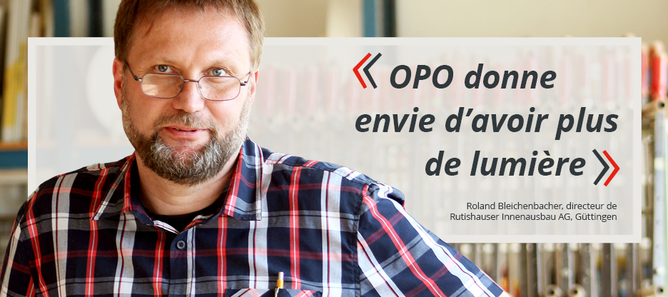 Parole aux clients d'OPO: Rutishauser Innenausbau AG