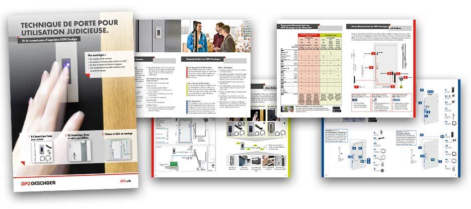 Kit de reconnaissance d'empreintes by OPO Oeschger