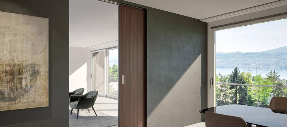 HAWA Junior : les portes coulissantes en verre et en bois ne sont désormais plus un problème non plus