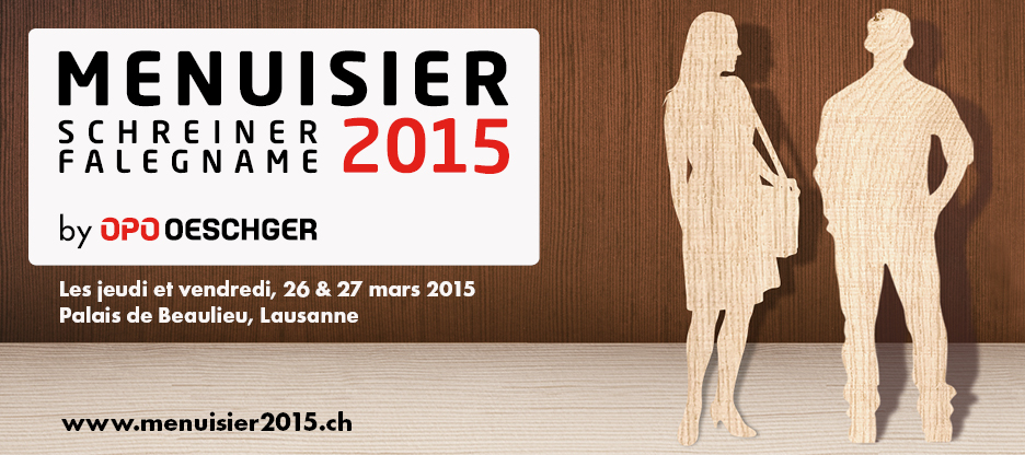 MENUISIER 2015 – Le salon événement !