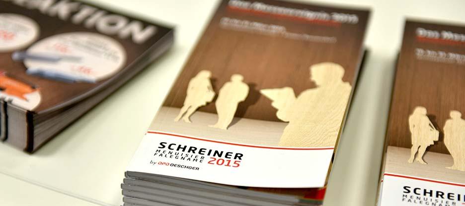 SCHREINER / MENUISIER 2015: des visages satisfaits