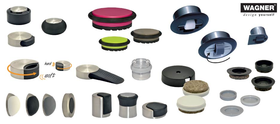 De petits accessoires utiles et intelligents pour les meubles et les portes