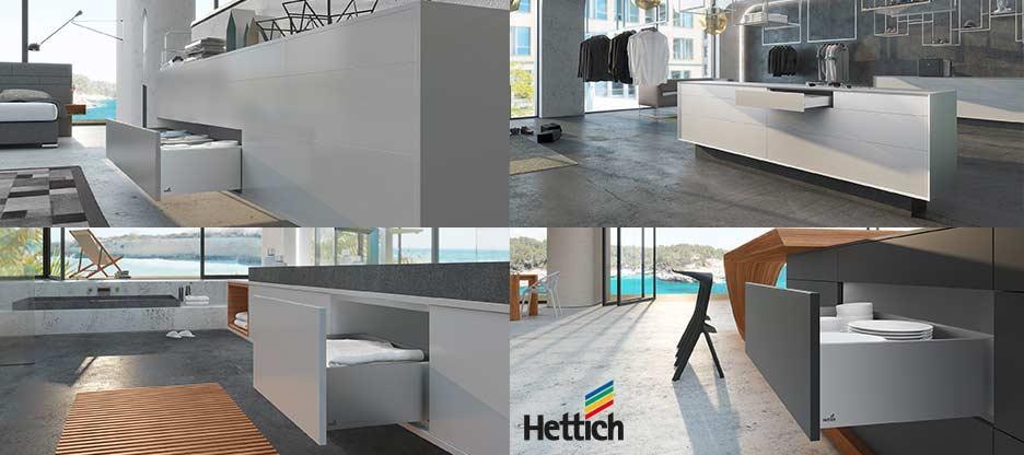 Vivre la perfection – Le système de tiroirs AvanTech de Hettich