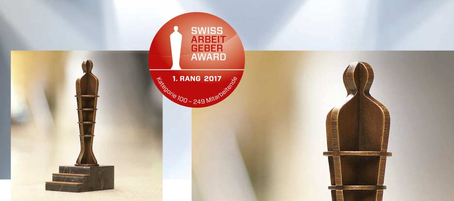 OPO Oeschger remporte le Swiss Arbeitgeber Award 2017