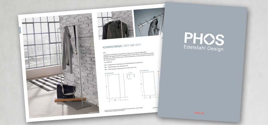 PHOS Edelstahl Design comme catalogues à feuilleter