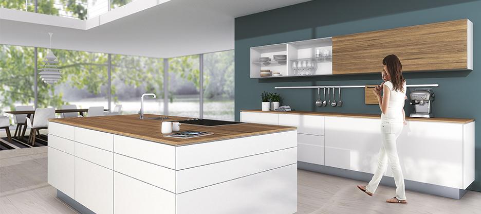 SlideLine M für Küchenmöbel