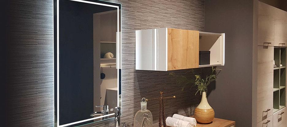 Miroir en cristal Deluxe E-motion de L&S