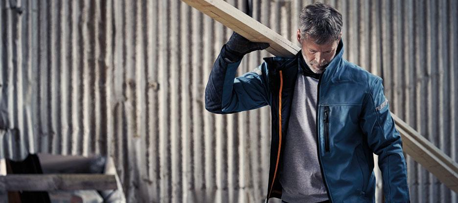 Maintenant en action: vêtements de travail pour l'hiver 2020