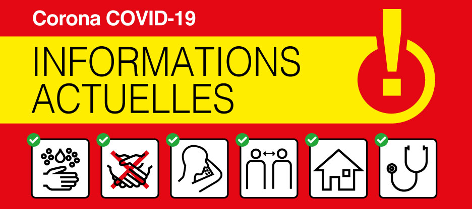 Information actuelle – COVID-19