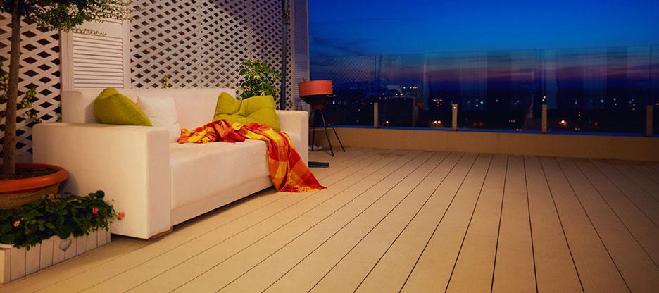 Terrasses en bois: systèmes de fixation et accessoires