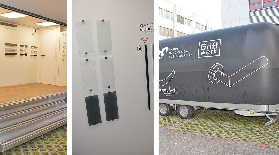 Nouveautés de Griffwerk lors de la tournée exclusive pour OPO Oeschger