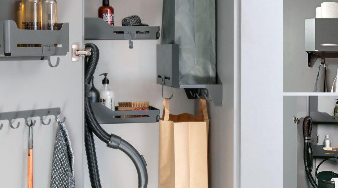 Un rangement parfait – rangez et aménagez clairement votre armoire d'intendance