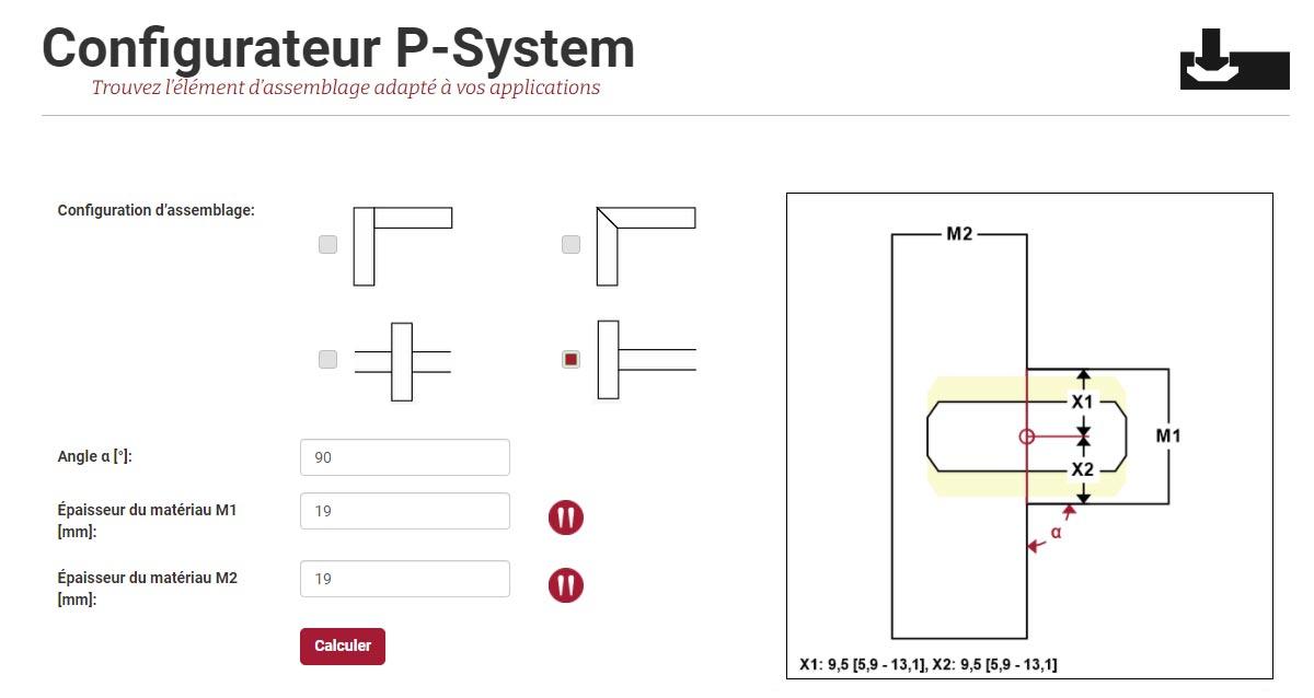 P-System Configurateur