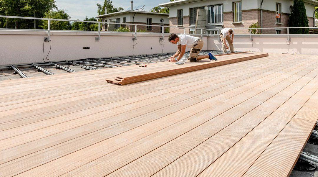 Terrasses en bois : ce à quoi il faut veiller lors de la construction
