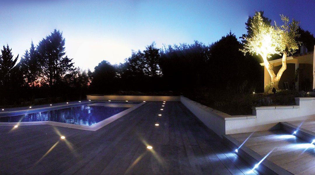 Le bon éclairage pour la terrasse et le jardin