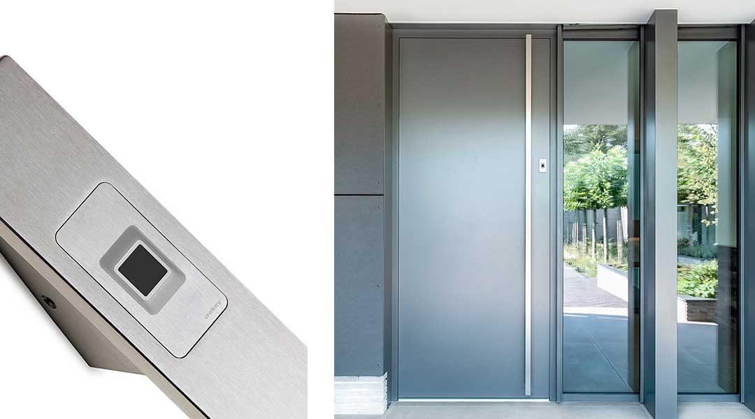 ekey dLine: accès intelligent avec empreinte – profitez du confort du Smart Home à l'entrée de la maison